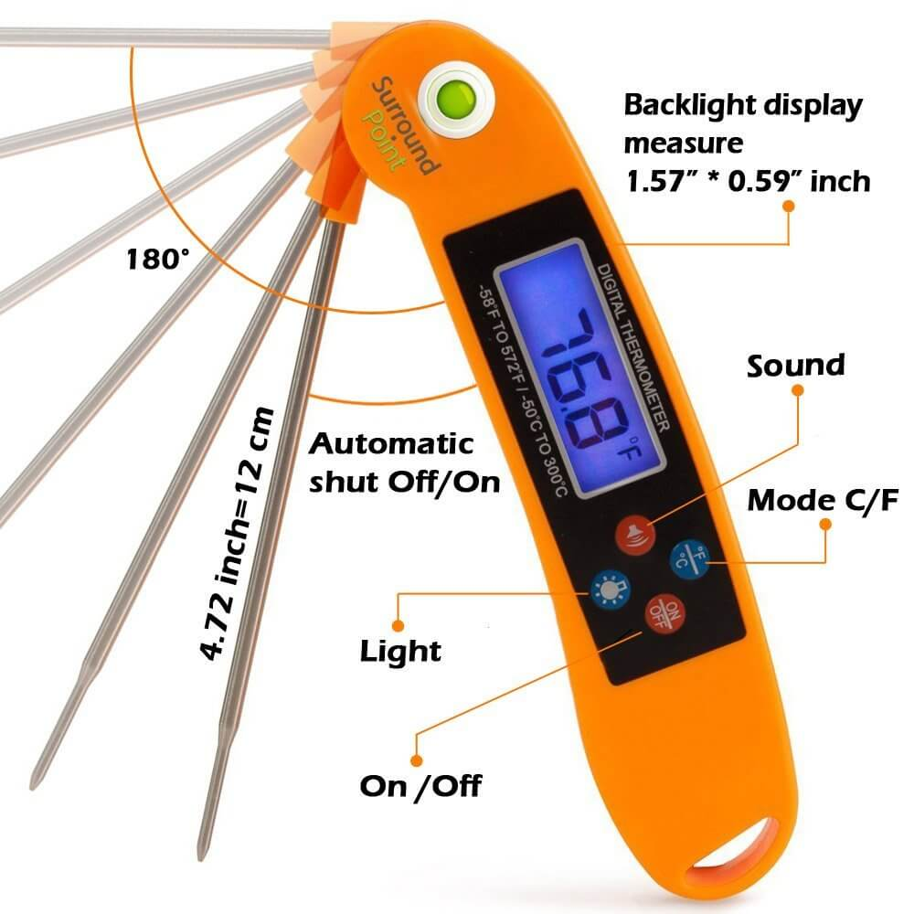 digital thermometer how to use