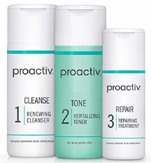 Remove Your Acne Instantly – Proactive 3-Step Acne Treatment System