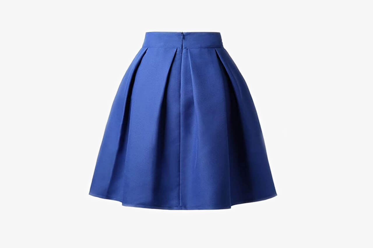 Trendy Pleated Midi Skirt September 2019