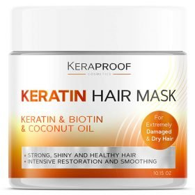 Keratin Best Hair Masks for Dry Damaged Hair